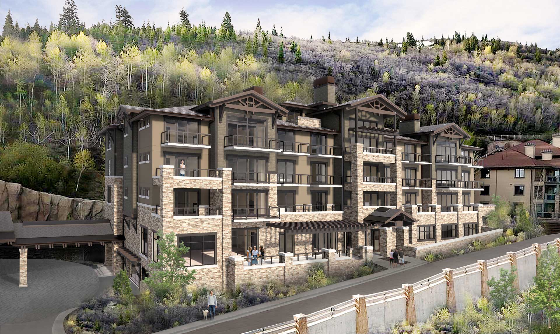The Snow Park Residences at The St. Regis Deer Valley - Phase II Rendering