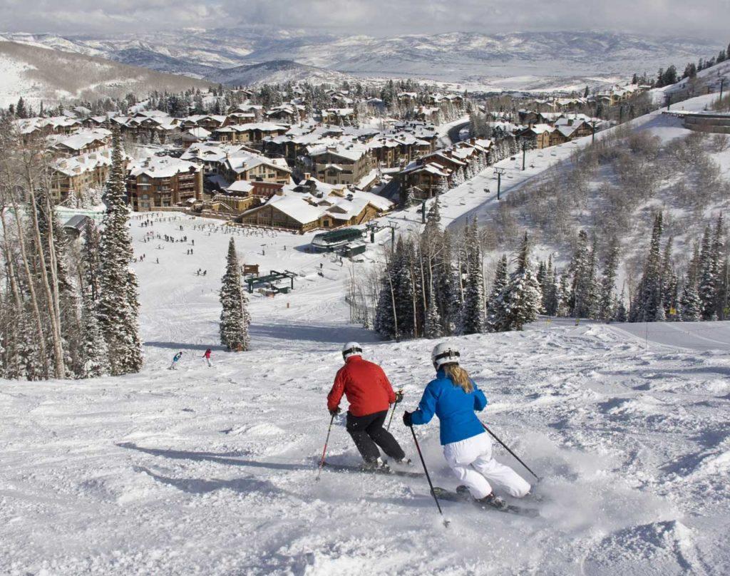 Skiing Deer Valley Resort
