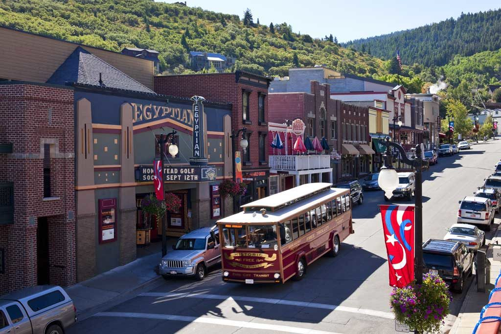 Main Street Trolly, Park City, UT