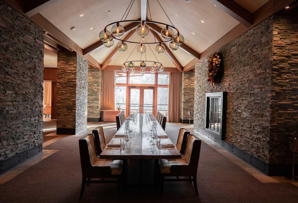 The St. Regis Deer Valley's Communal Table
