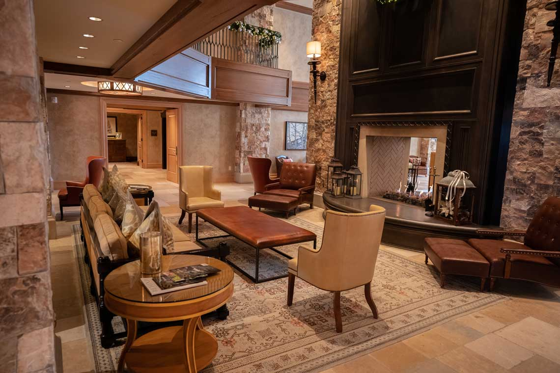 The St. Regis Deer Valley's Lobby