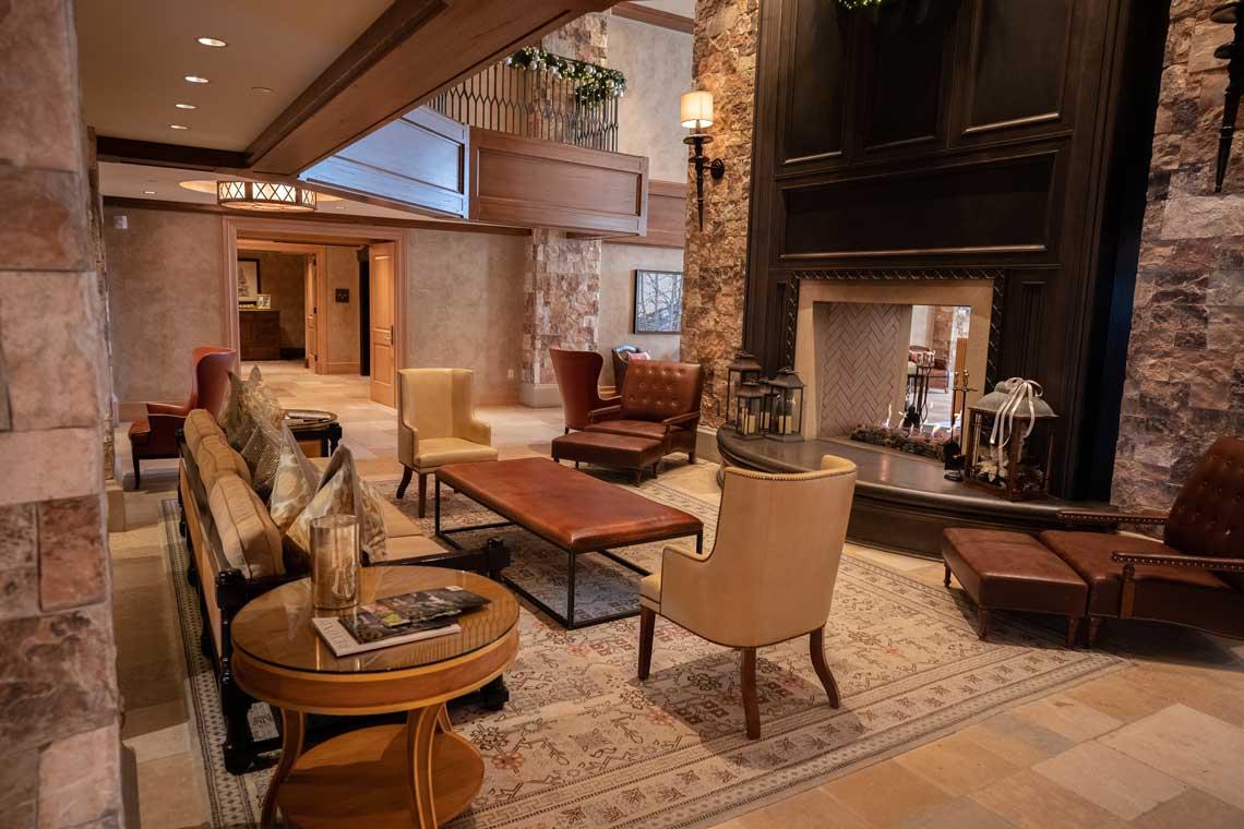 The St. Regis Deer Valley's Lobby