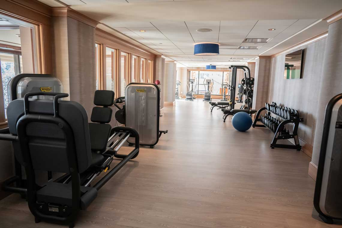 The St. Regis Deer Valley's Fitness Room