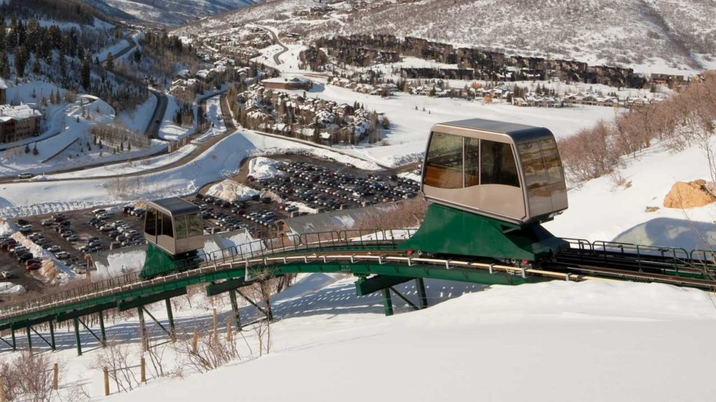 The St. Regis Deer Valley Funicular Cars