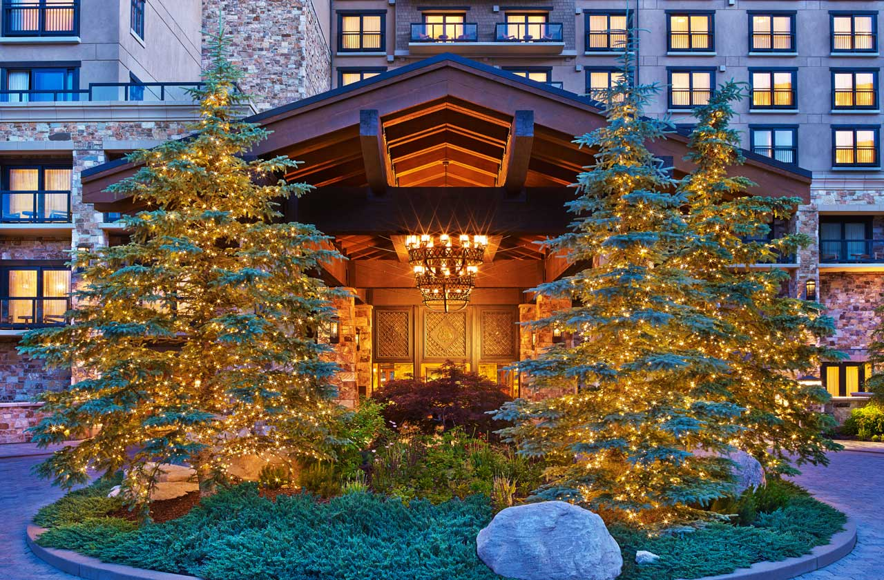 The St. Regis Deer Valley Porte Cochere