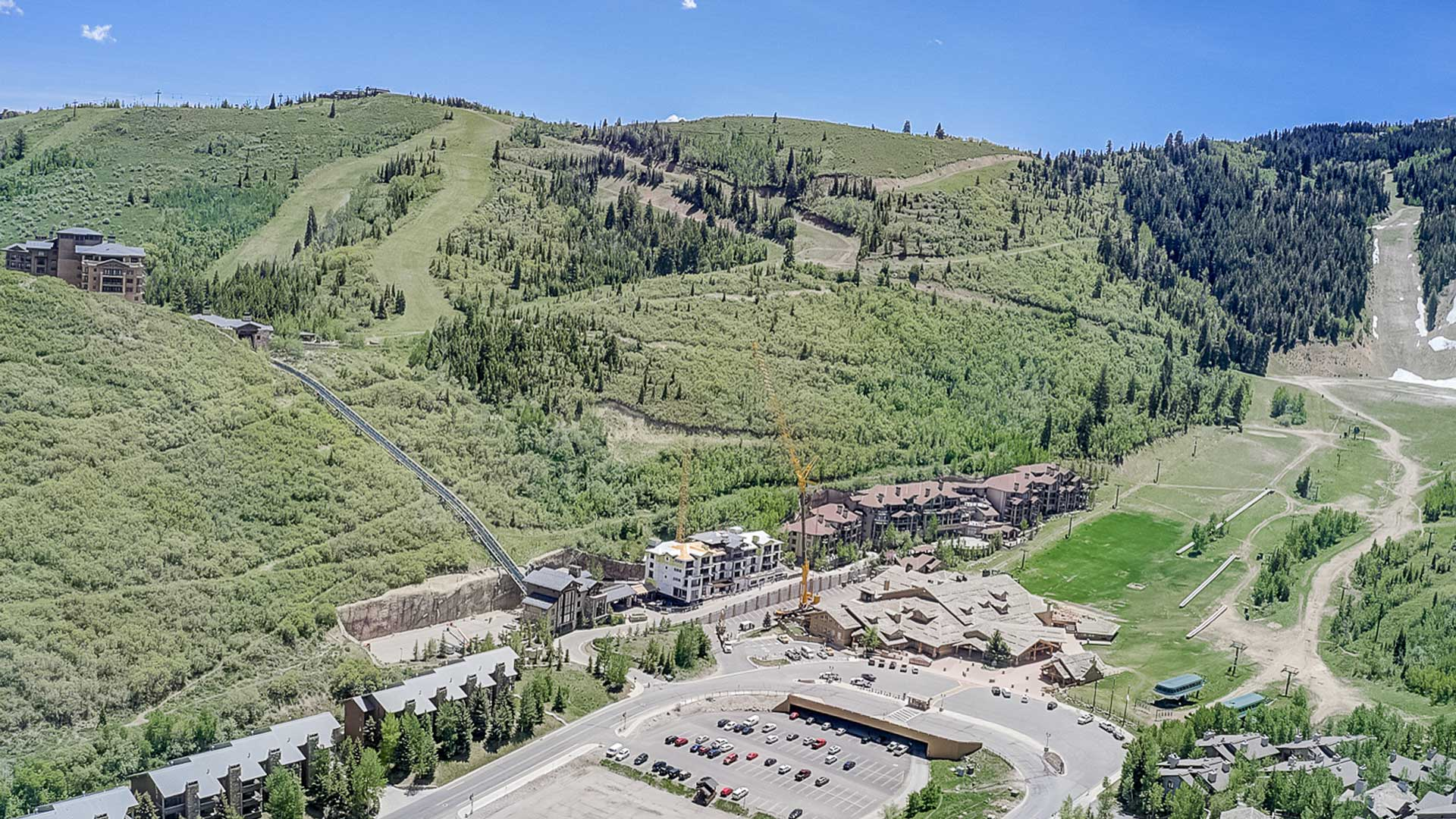 Construction Progress, The Residences at The St. Regis Deer Valley | Snow Park, June 3, 2020