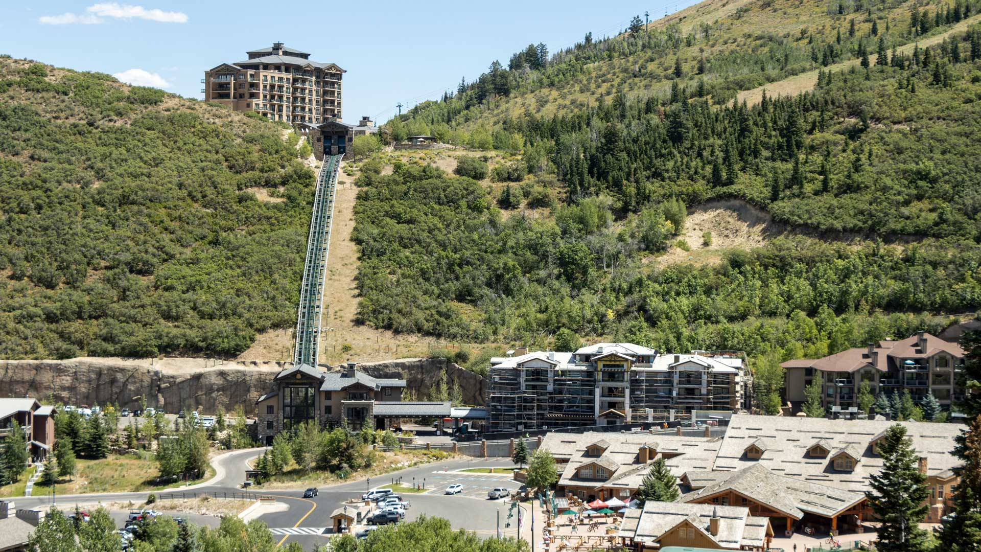 Construction Progress, The Residences at The St. Regis | Snow Park, August 13, 2020
