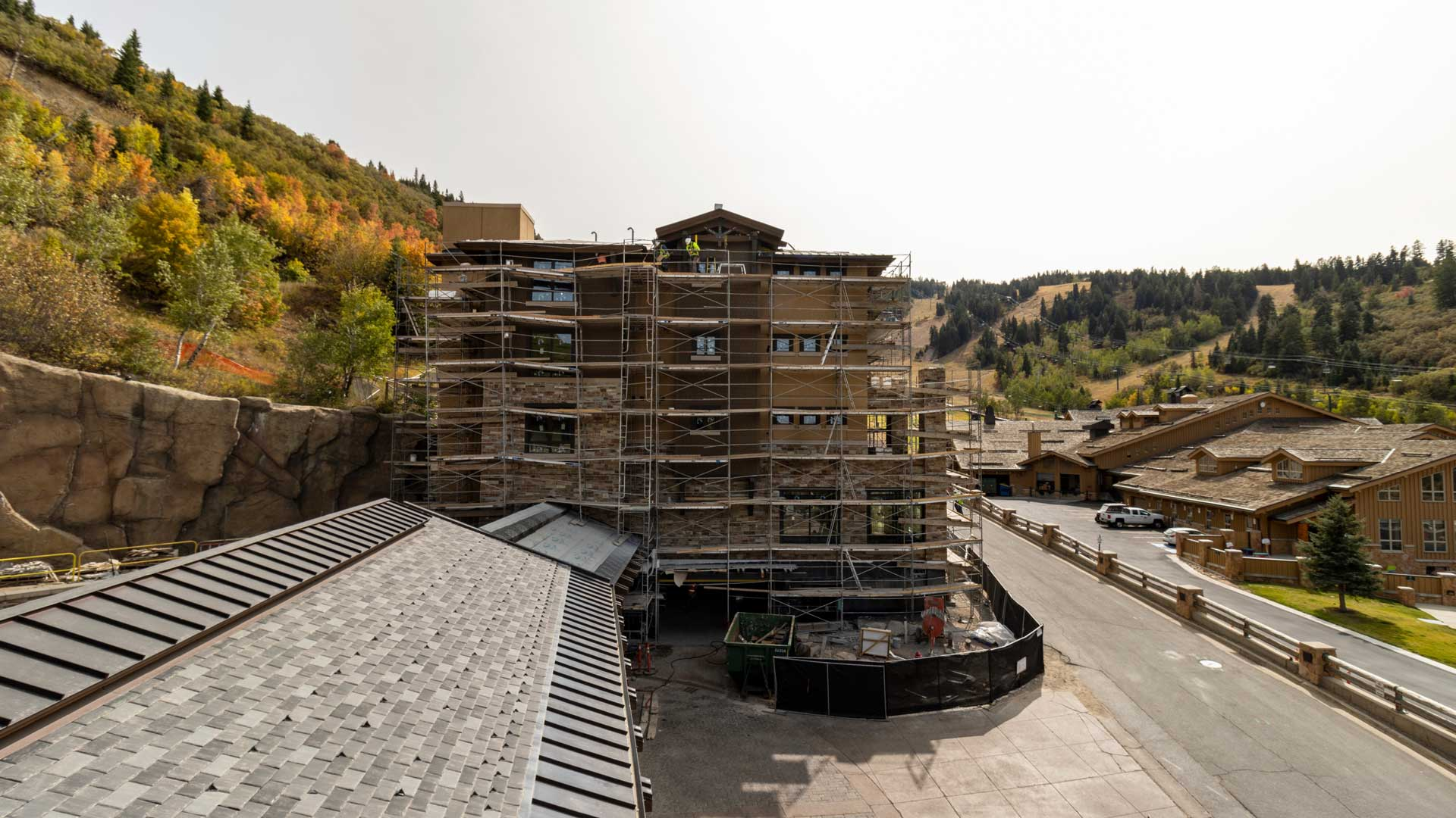 Construction Progress, The Residences at The St. Regis | Snow Park, September 14, 2020