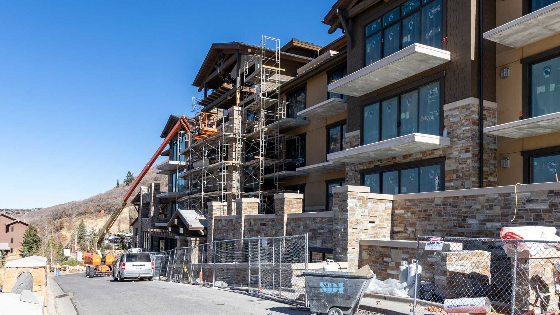 Construction Progress, The Residences at The St. Regis | Snow Park, October 28, 2020