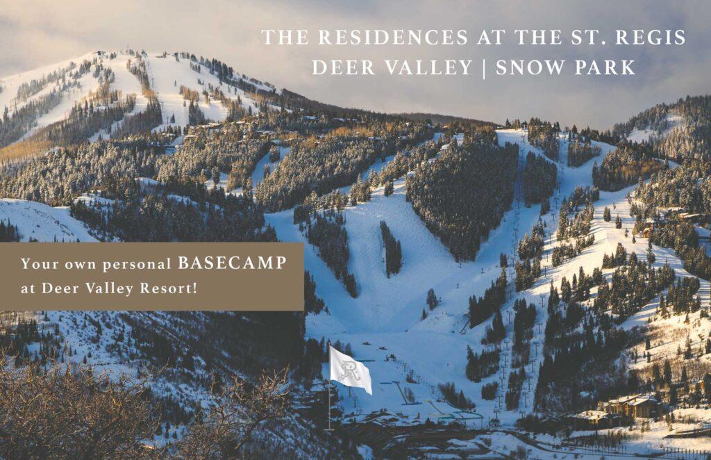 The St. Regis Deer Valley Basecamp