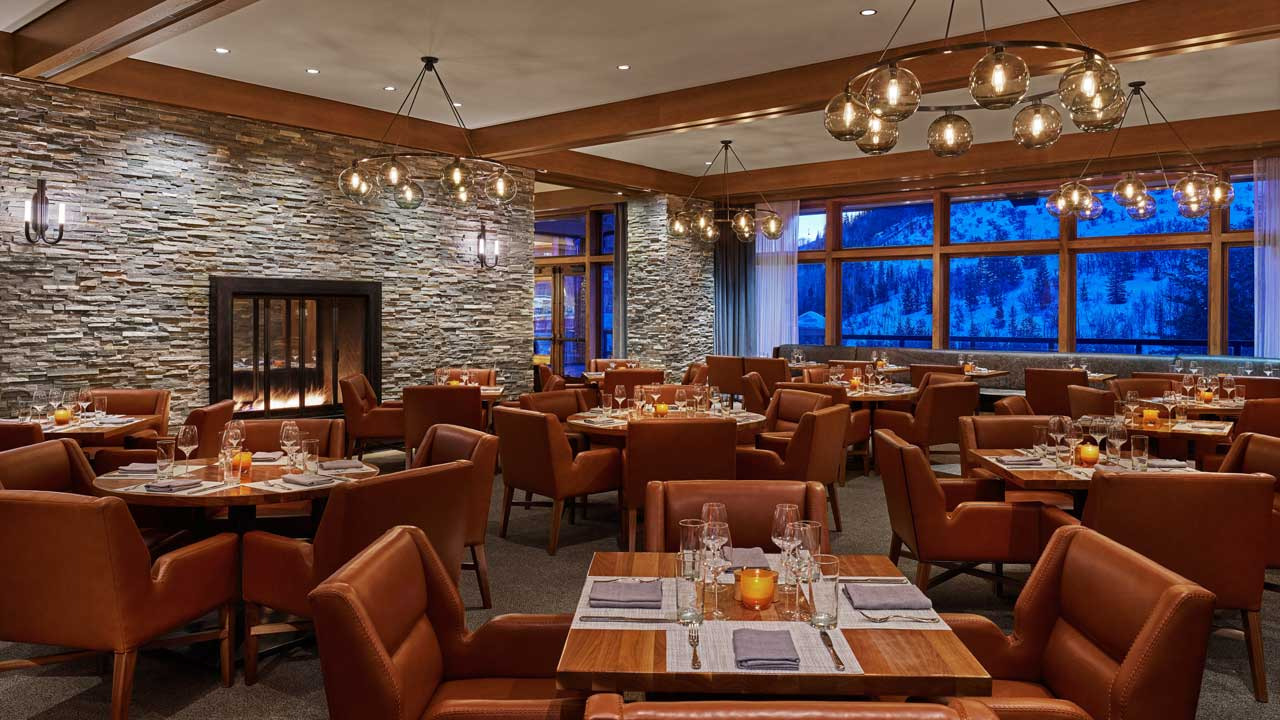 RIME Dining Room at The St. Regis Deer Valley