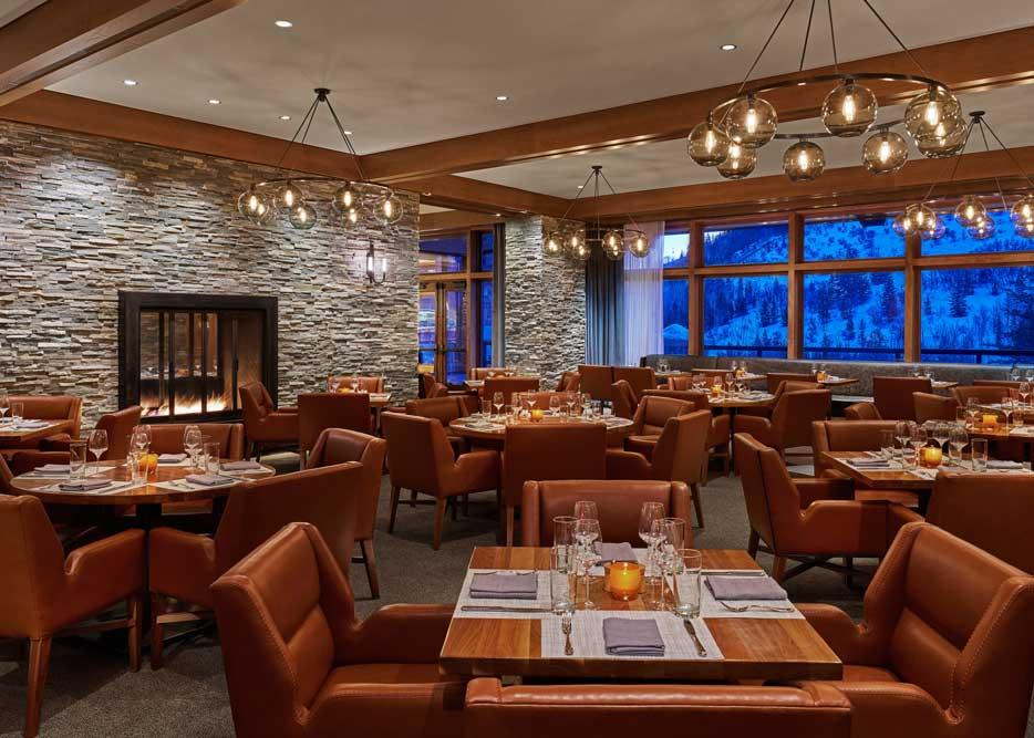 The St. Regis Deer Valley RIME Dining Room