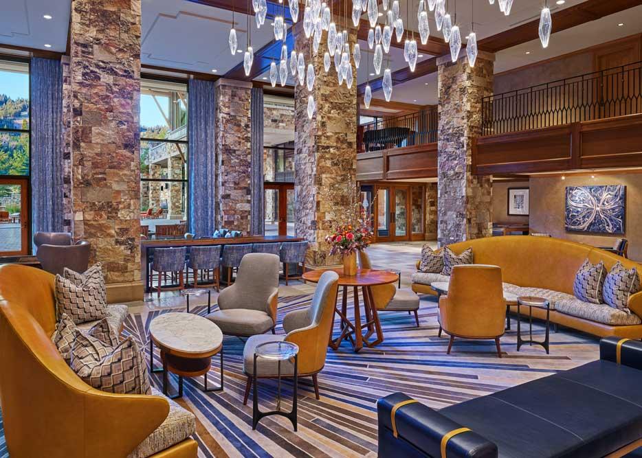 The St. Regis Deer Valley Lobby