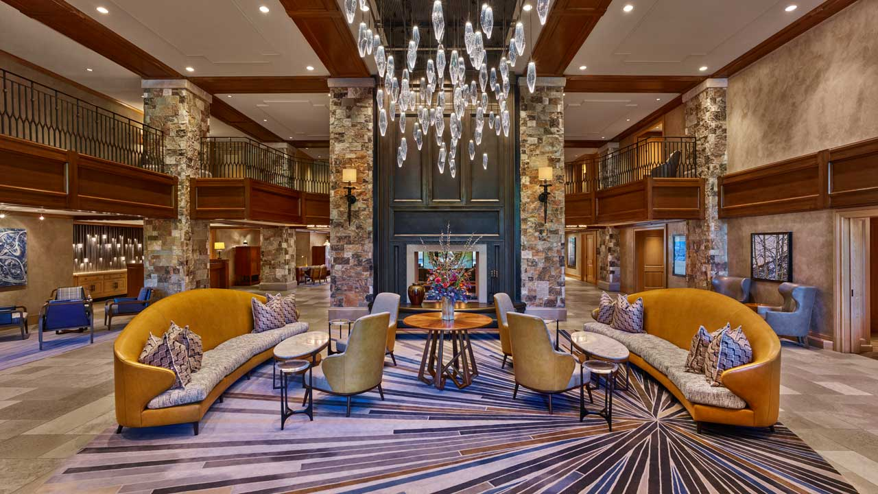 The St. Regis Deer Valley Lobby Overview