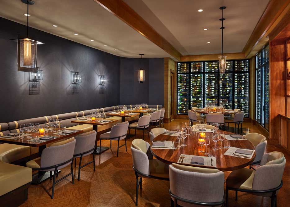 The St. Regis Deer Valley Wine Vault Private Dining Room