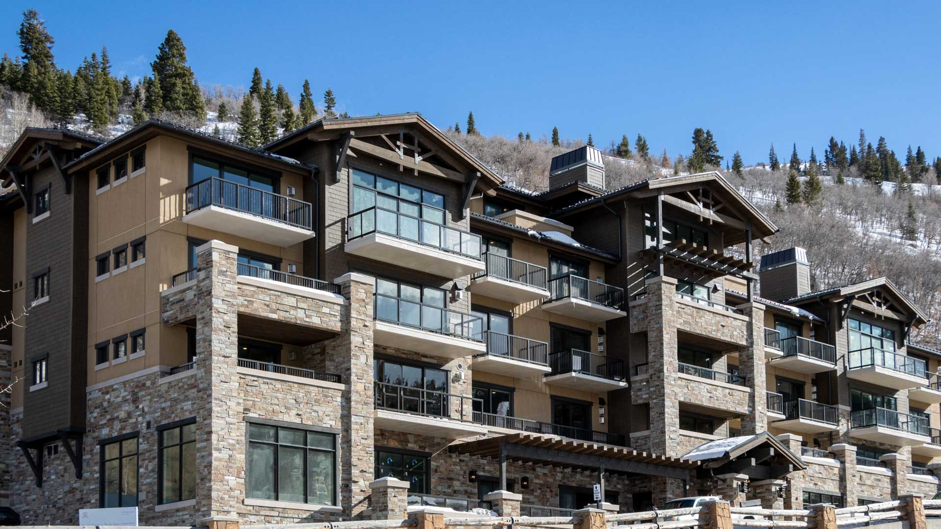 Construction Progress, The Residences at The St. Regis Deer Valley | Snow Park, February 10, 2021