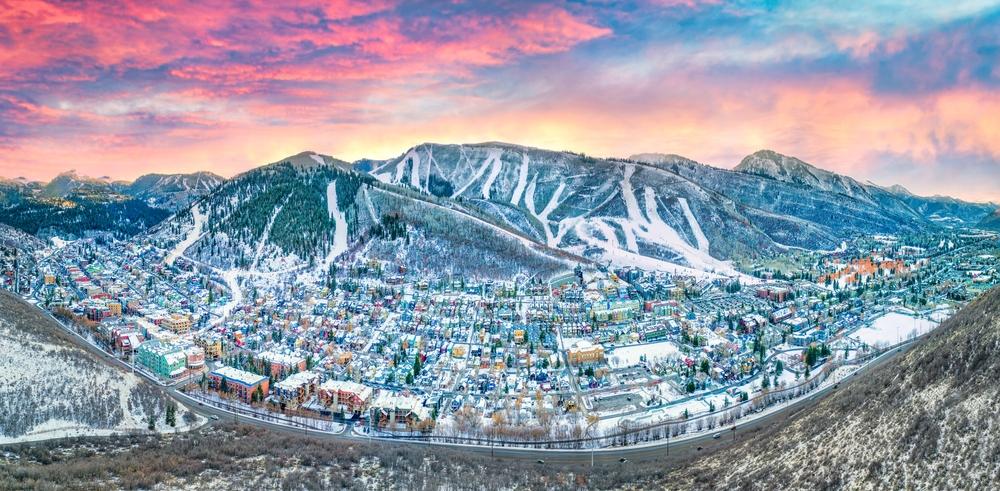St. Regis Deer Valley Residences presenting Park City, Utah's Downtown Skyline